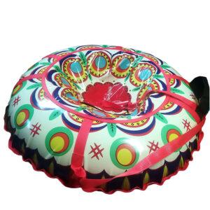 Санки-ватрушки с оригинальной печатью